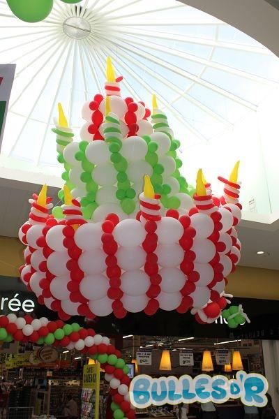 decoration anniversaire auchan
