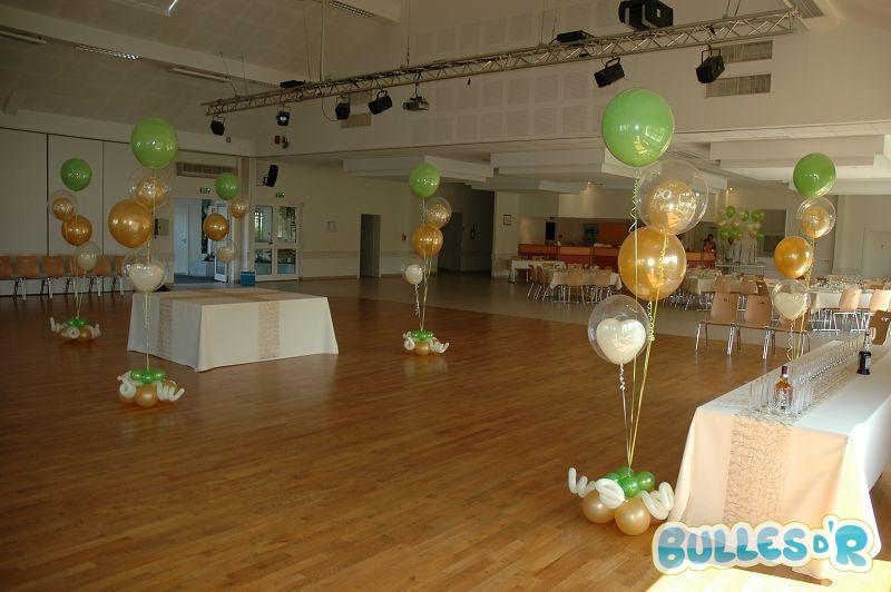 bullesdr d coration de noces d 39 or en ballons wiwersheim