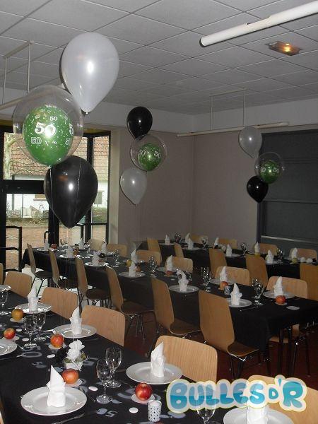 Bullesdr d coration d 39 anniversaire en ballons herrlisheim for Decoration 50 ans