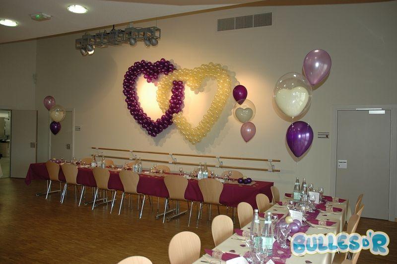 Bullesdr d coration de mariage en ballons ittenheim for Decoration urne de mariage