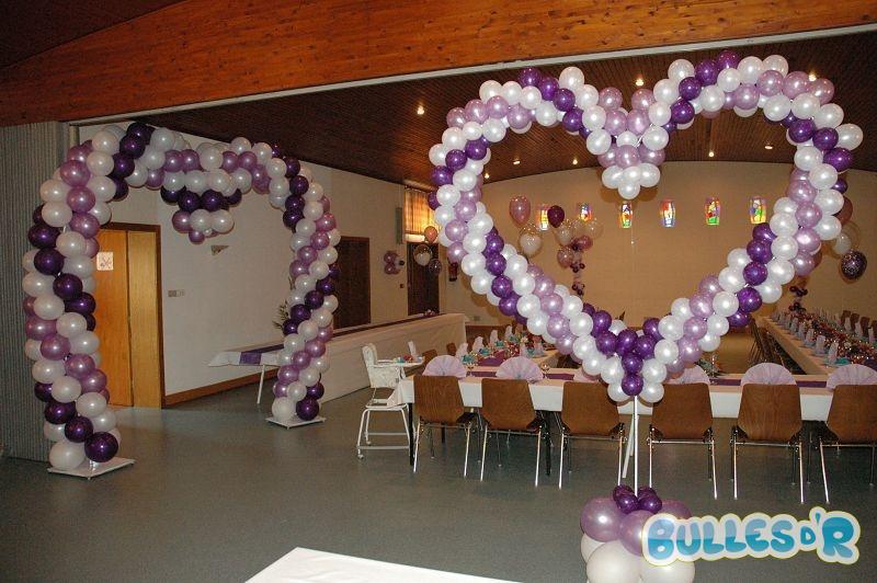 Bulles_d_R_L_univers_du_ballon_Decoration_mariage_ballons__blanc_lilas ...