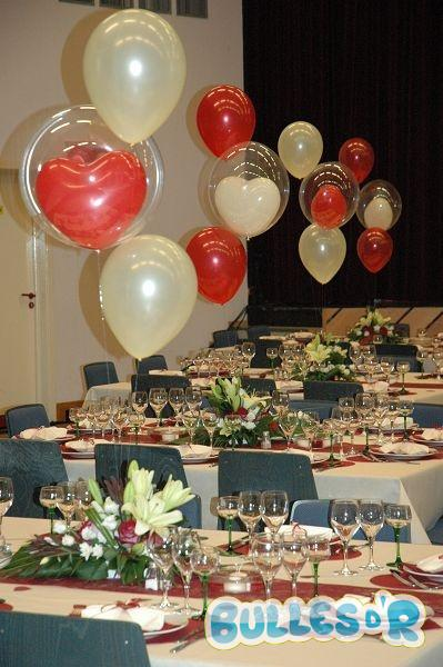 Bullesdr d coration de mariage en ballons niederbronn 67110 alsace - Decoration ballon mariage ...