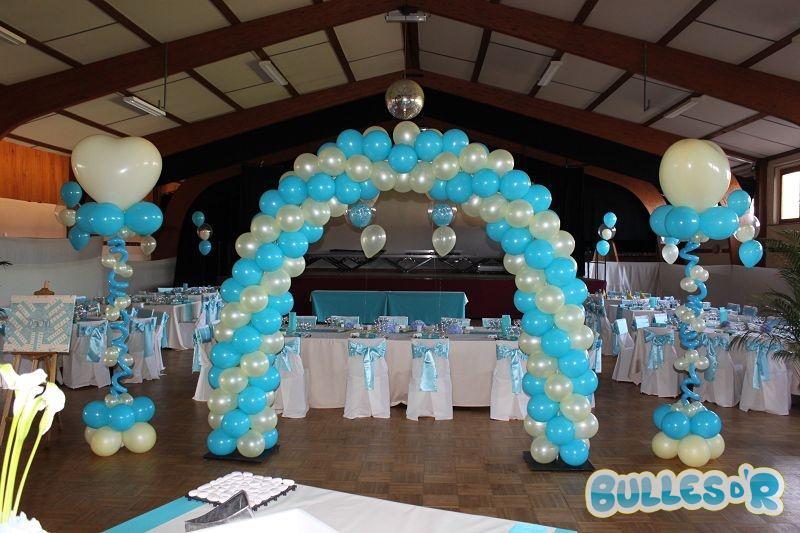 Bullesdr d coration de mariage en ballons kilstett 67840 alsace bullesdr - Decoration ballon mariage ...