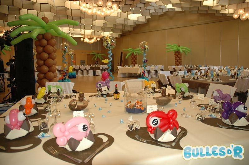 Bullesdr d coration de mariage en ballons fegersheim - Decoration mer pour mariage decoration mer ...