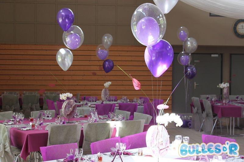 Bullesdr d coration de mariage en ballons salmbach 67160 alsace bullesdr - Decoration ballon mariage ...