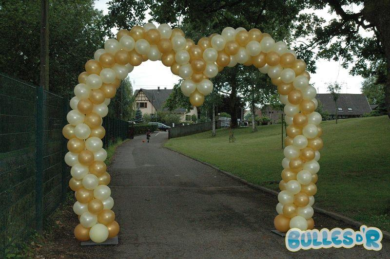 Bullesdr d coration de mariage en ballons ostwald 67540 for Decoration or