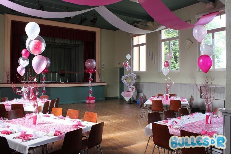 Décoration Salle De Mariage Rose Fushia Et Blanc Idées