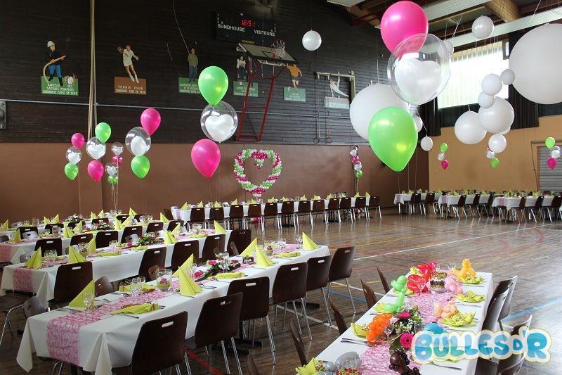 Bullesdr d coration de mariage en ballons sundhouse for Decoration de salle