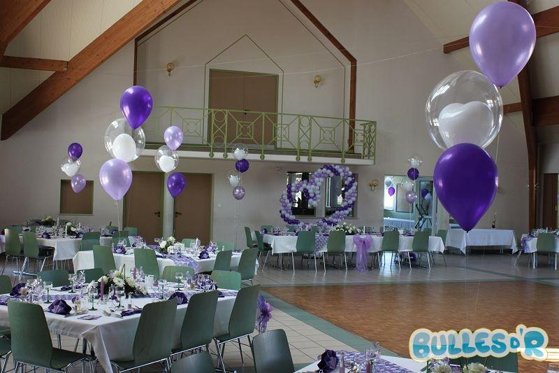 Bullesdr d coration de mariage en ballons oberroedern for Decoration de salle