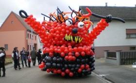 Char de Carnaval Anges et Démons