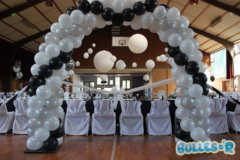 bullesdr d coration de mariage en ballons. Black Bedroom Furniture Sets. Home Design Ideas