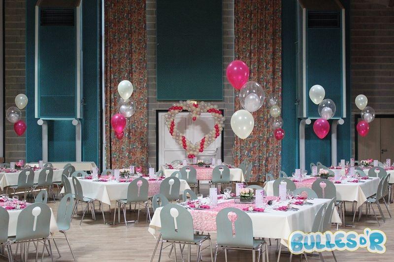 Bullesdr d coration de mariage en ballons waldolwisheim 67700 alsace - Decoration ballon mariage ...