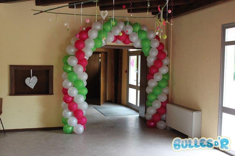 Bullesdr D Coration De Mariage En Ballons Schoenau 67390 Alsace