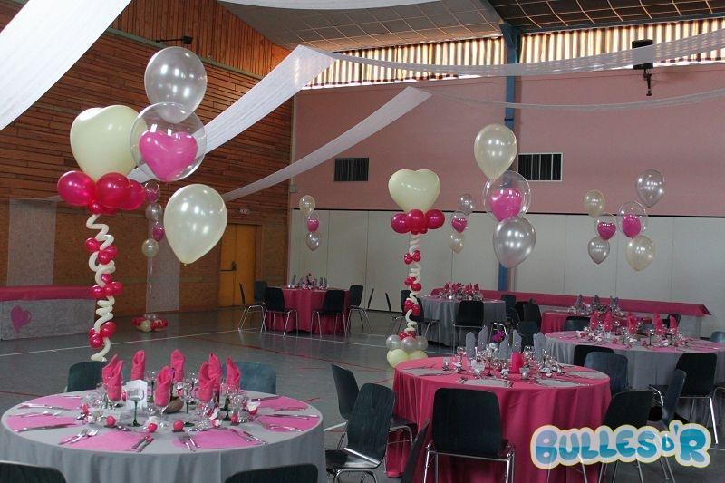 Bullesdr d coration de mariage en ballons ohnenheim 67390 alsace bullesdr - Decoration ballon mariage ...