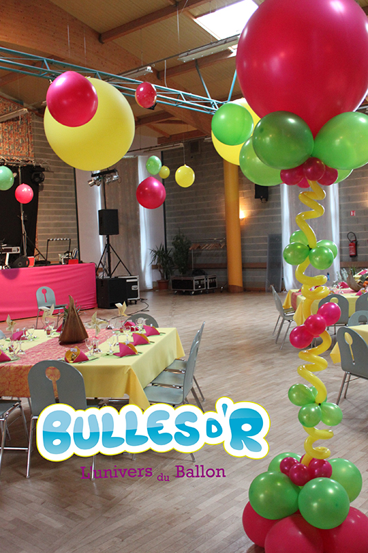 Bullesdr d coration de mariage en ballons waldolwisheim for Decoration theme gourmandise