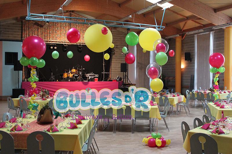 Bullesdr d coration de mariage en ballons waldolwisheim - Decoration de salle anniversaire ans ...