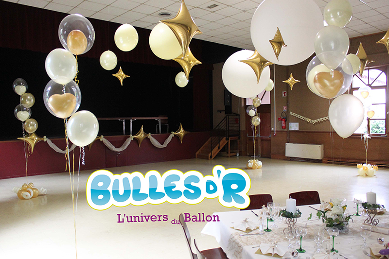 Bullesdr d coration de mariage en ballons dinsheim sur - Decoration mariage avec ballon ...