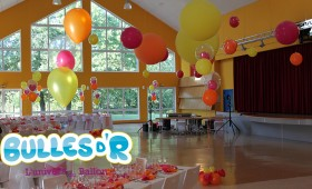 Décoration ballons mariage Dalhunden