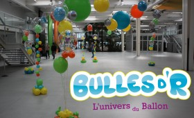 Décoration ballons CCI Strasbourg