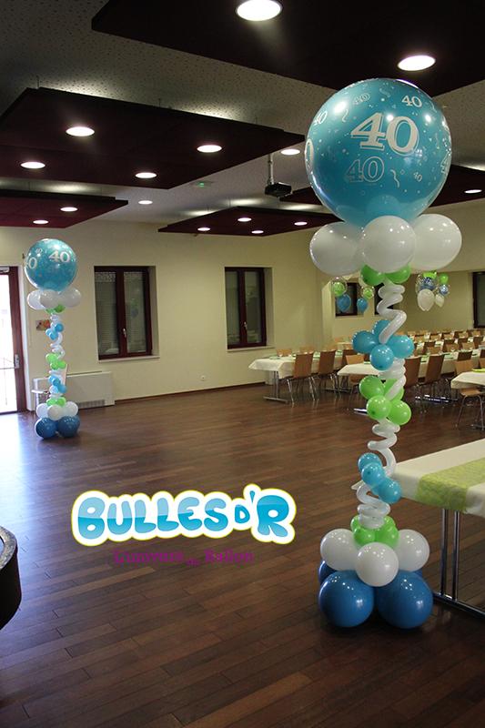 Décoration Ballons Anniversaire 40 Ans à Heiligenberg 67190