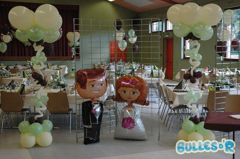 Bullesdr id es cadeaux mari s bullesdr - Decoration ballon mariage ...