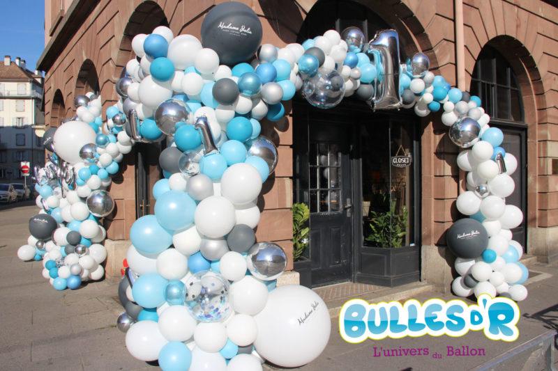 arche de ballons déstructurée